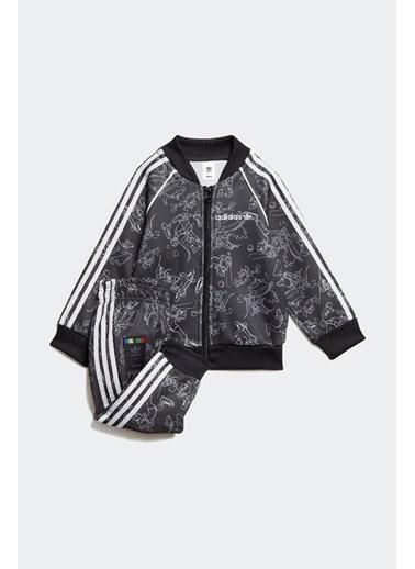adidas Adidas Bebek Günlük Eşofman Takım Goofy Sst Set Gd2790 Renkli